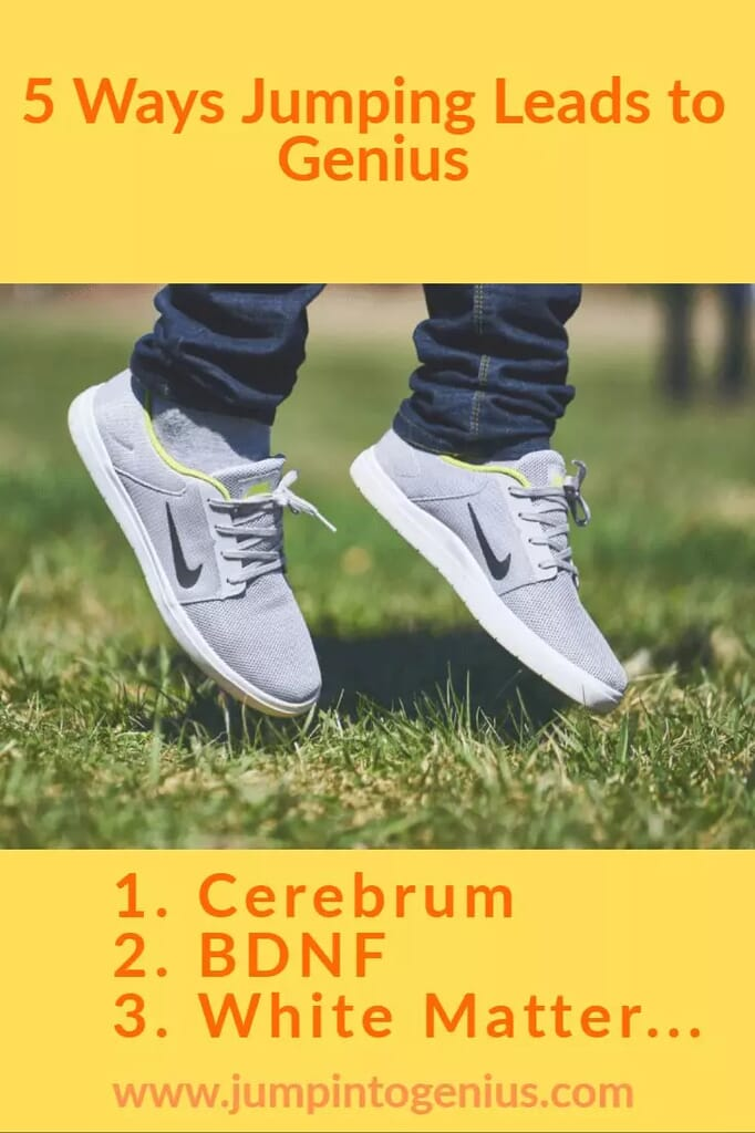 5 Ways Jumping Leads to Genius (feet jumping)