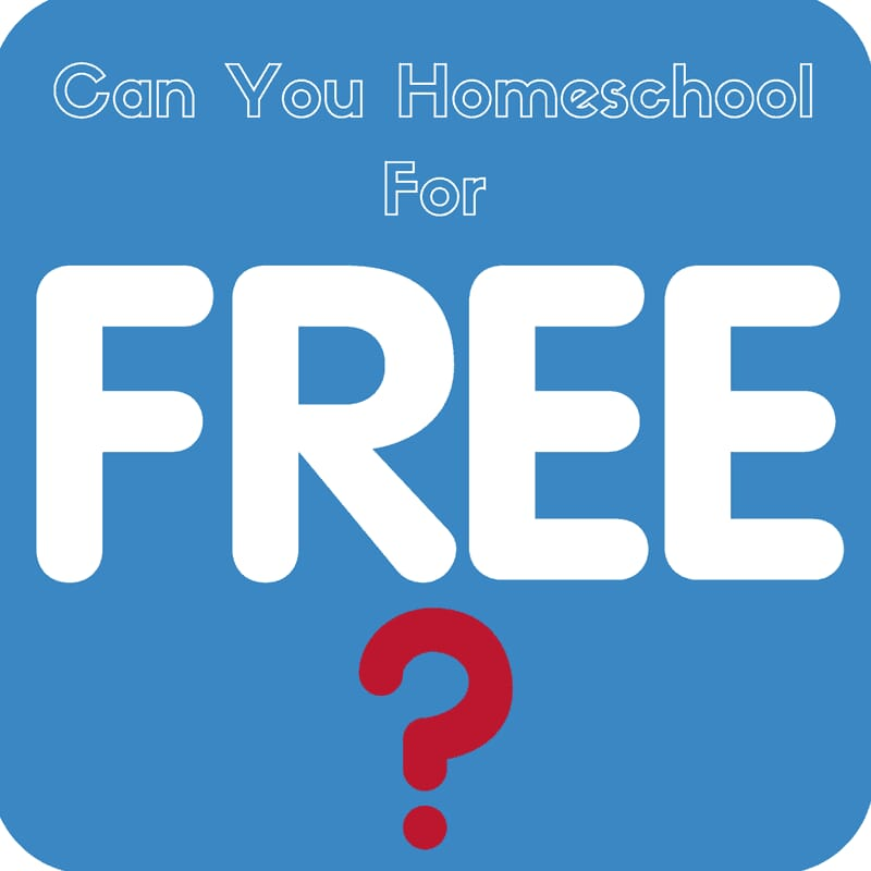 Can You Homeschool For Free?