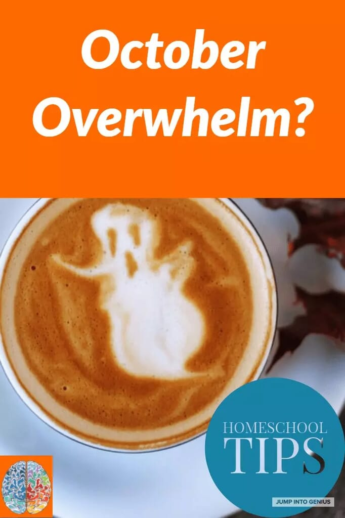 Overwhelm in your homeschool