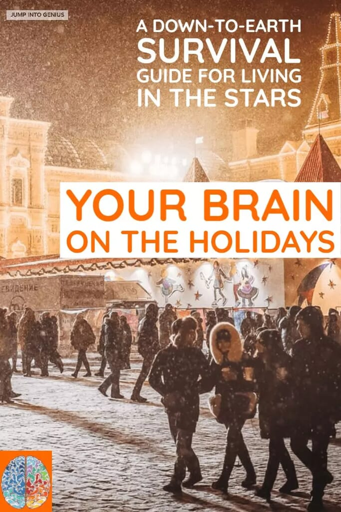 Your Brain on the Holidays, a down-to-earth guide to living in the stars