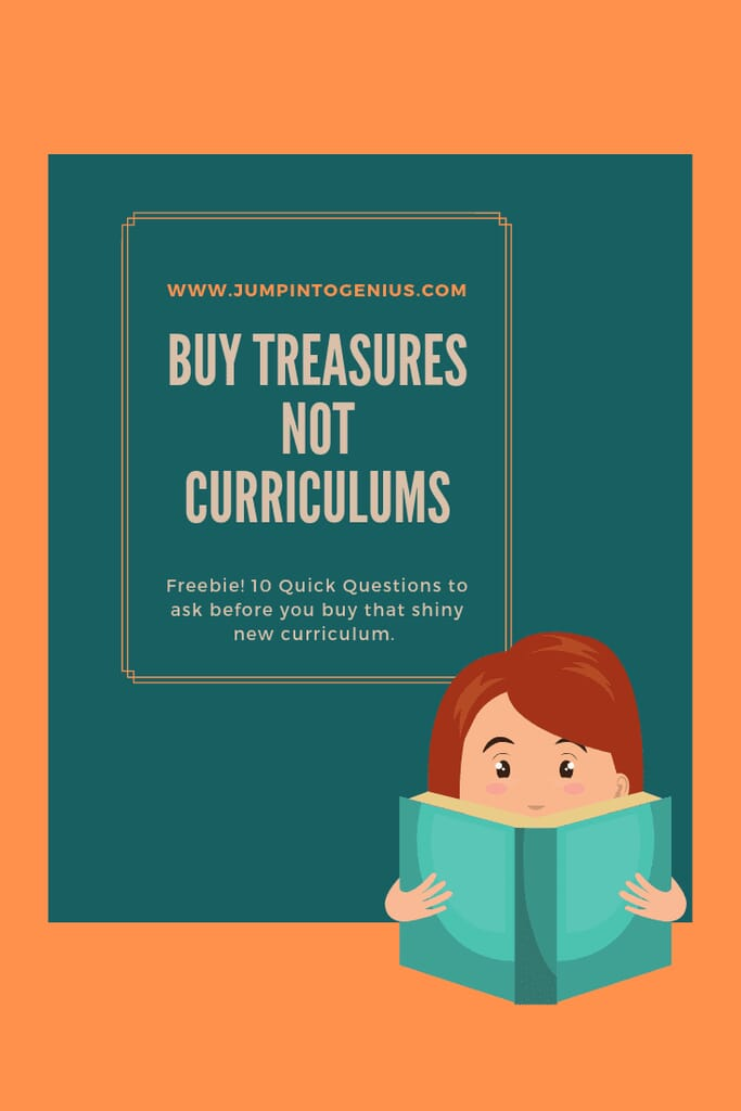 Don't Collect Curriculums, Collect Treasures