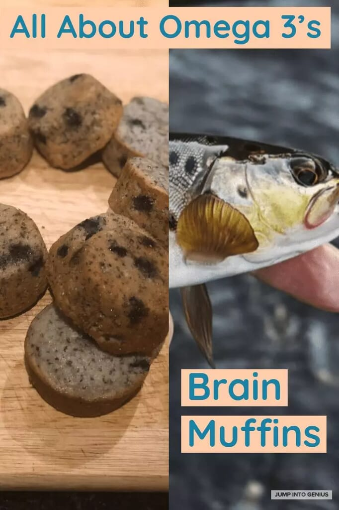 All About Omega 3's Brain Muffins