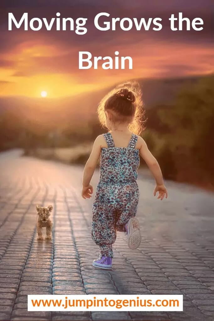 Moving Grows the Brain - Girl Running