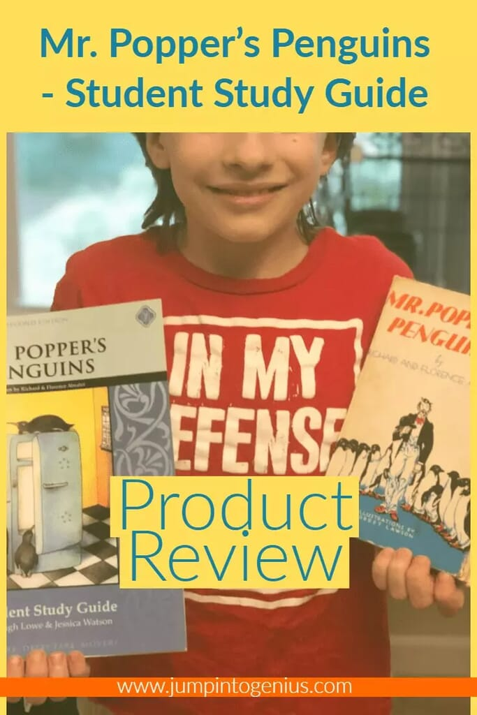 Mr. Popper's Penguins Student Study Guide Product Review