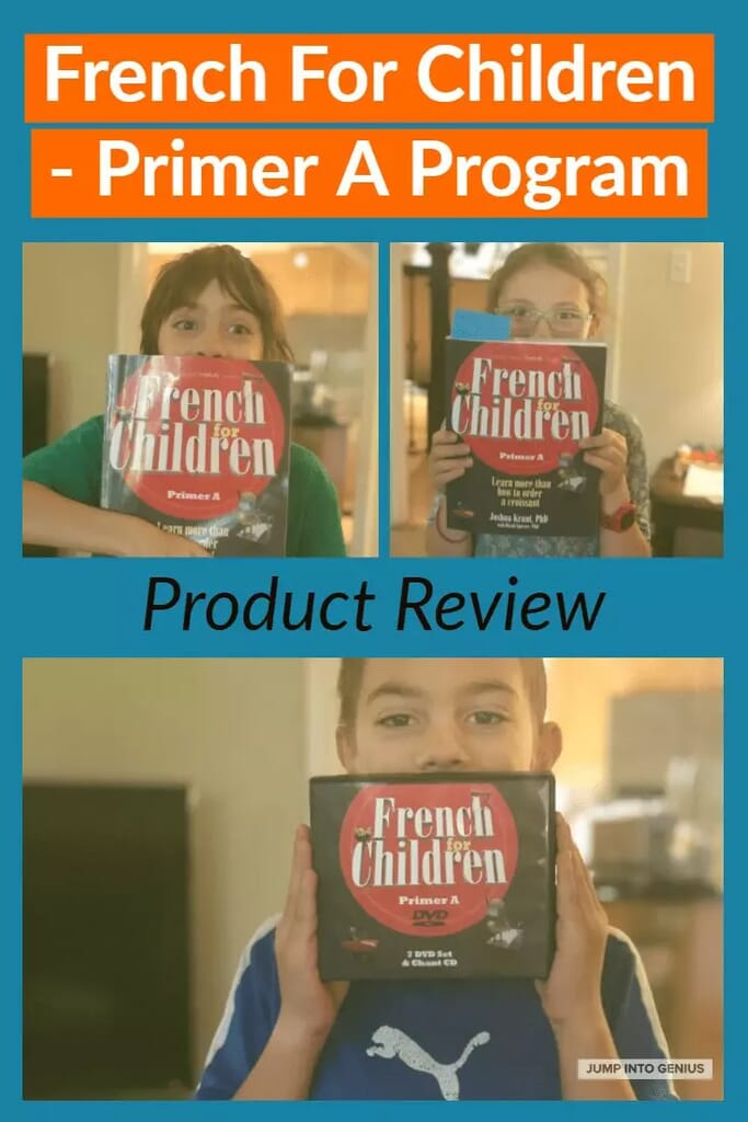 French for Children - Primer A Program Product Review