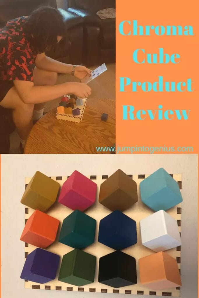 Chroma Cube Product Review by Jump Into Genius