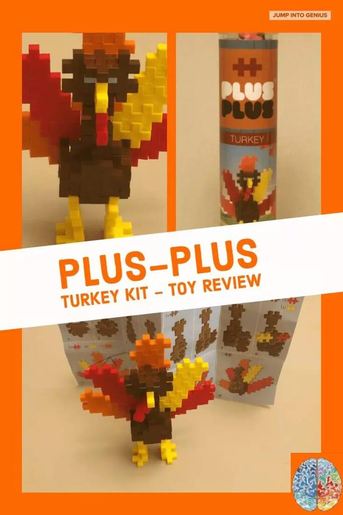 Plus-Plus Turkey Kit Toy Review