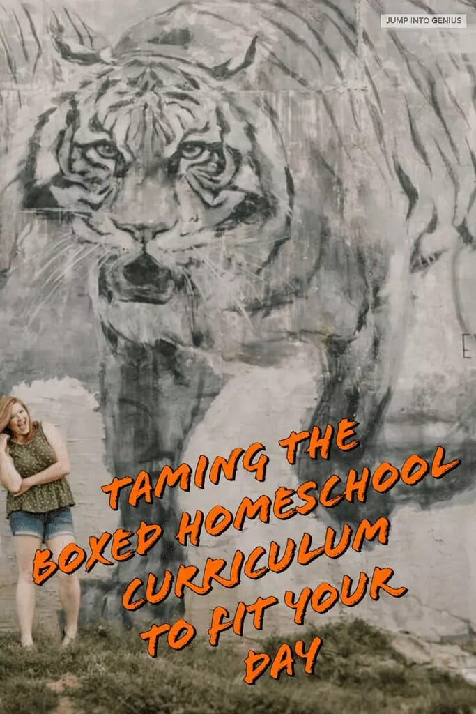 Taming the Boxed Homeschool Curriculum to Fit Your Day