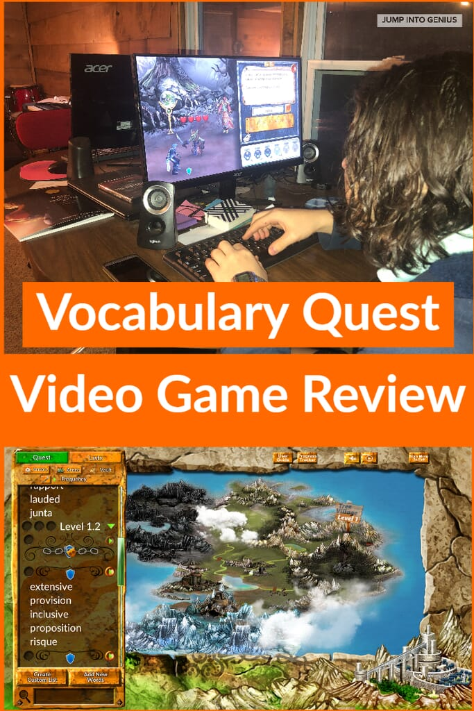 Vocabulary Quest Video Game Review