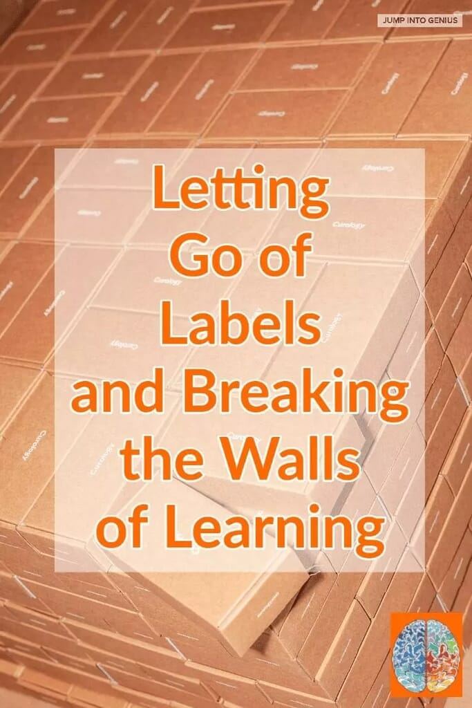 Letting Go of Labels and Breaking the Walls of Learning