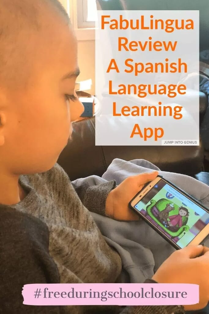 FabuLingua Review - A Spanish Language Learning App for Kids