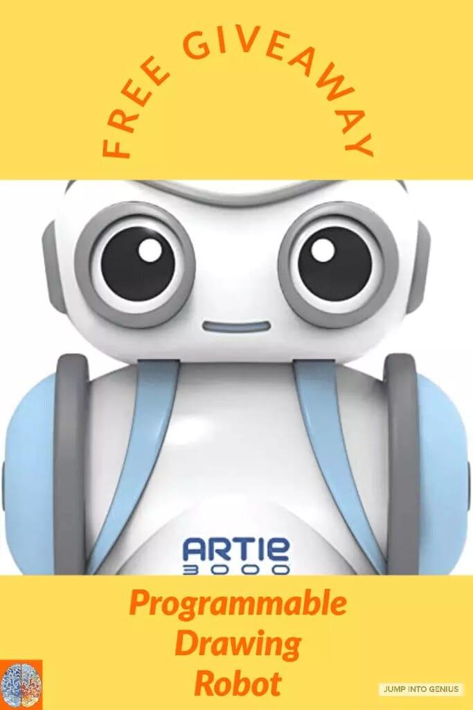 Artie 3000 Robot Giveaway
