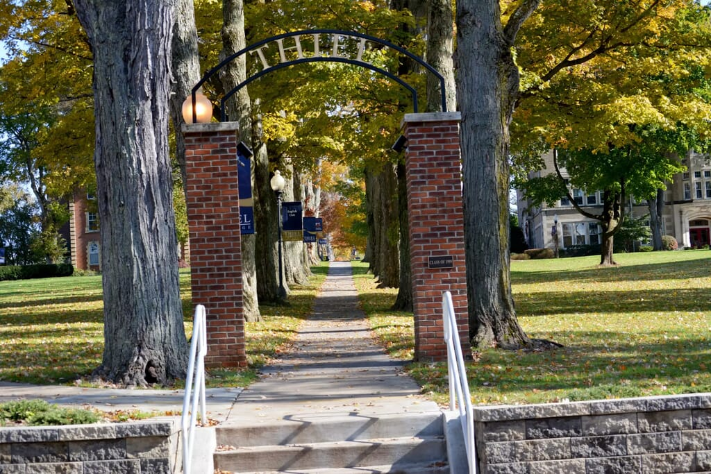 Thiel College for homeschoolers