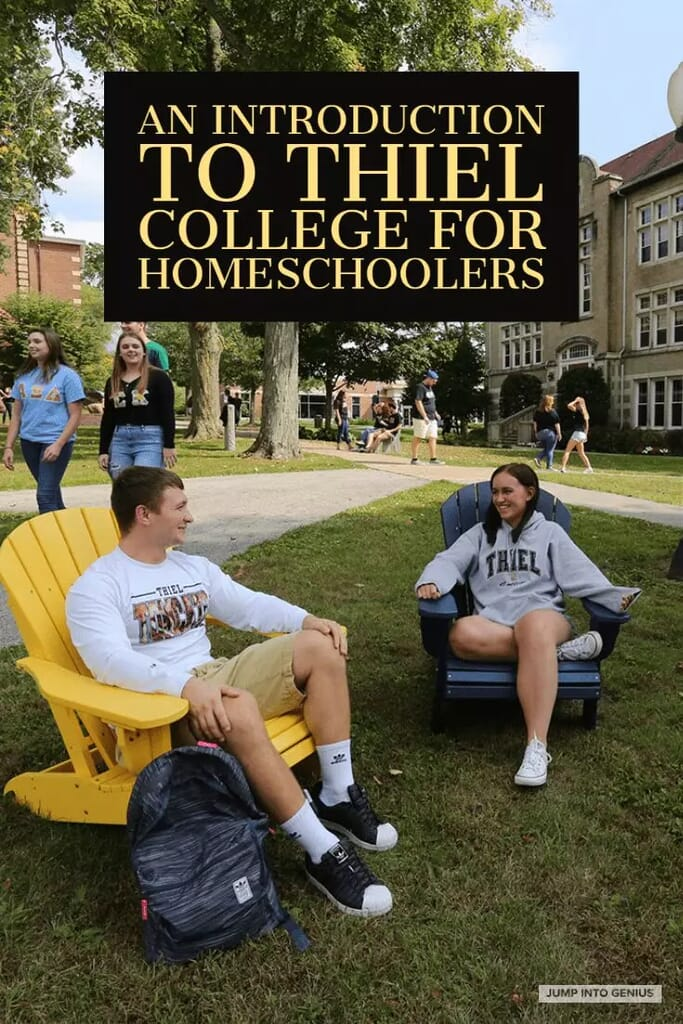 An Introduction to Thiel College for Homeschoolers