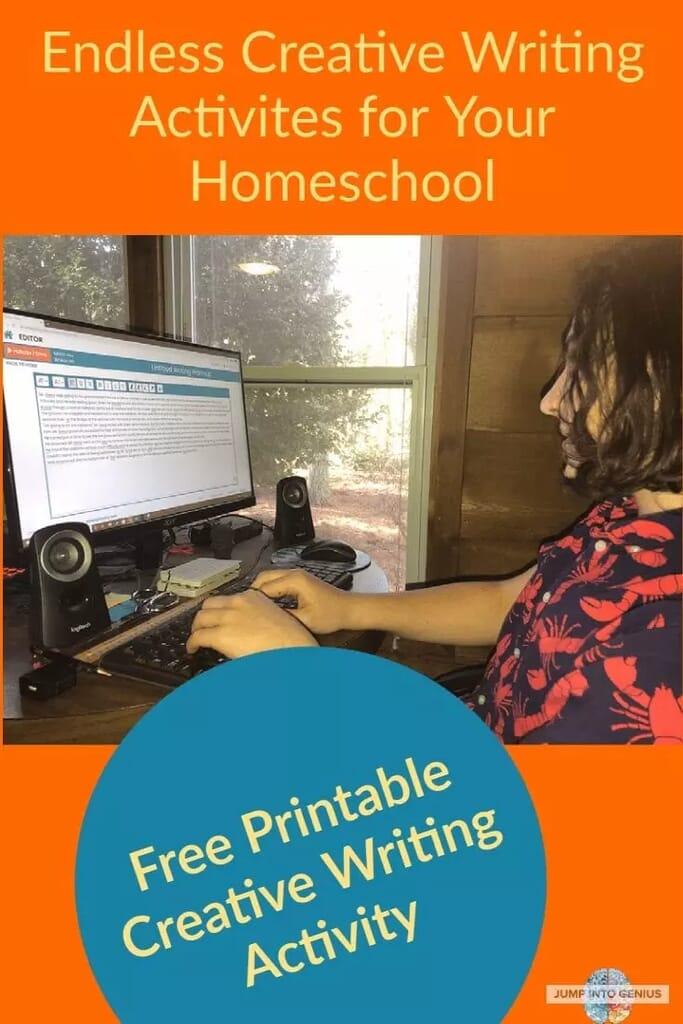 Endless Creative Writing Activites for You Homeschool