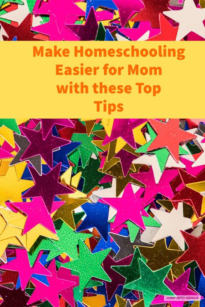 Make Homeschooling Easier for Mom