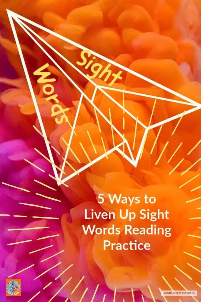 5 Ways to Liven Up Sight Word Reading Practice