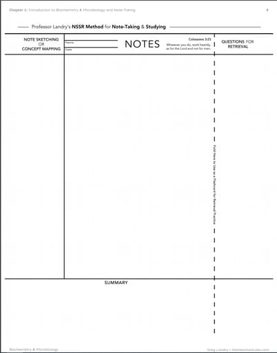 A note-taking template is included to help get kids started.